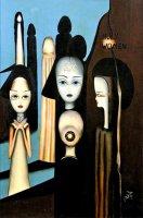 נשים קדושות – שמן על קנבס – 00 X 60 סמ.